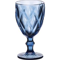 Ποτήρια νερού Cryspo Trio καρέ μπλε