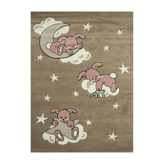 Χαλί koulis Carpets Kids 1366A Beige-Pink
