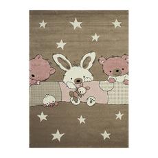 Χαλί koulis Carpets Kids 1372A Beige-Pink