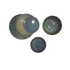 Σερβίτσιο πιάτων Cryspo Trio Emerald