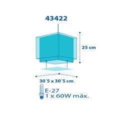 Παιδικό φωτιστικό οροφής Ango 43422