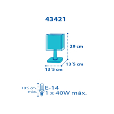 Παιδικό επιτραπέζιο φωτιστικό Ango 43421