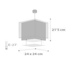 Παιδικό φωτιστικό οροφής Ango 63392