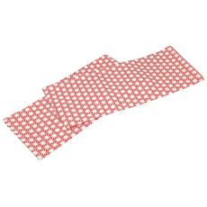 Τραπεζομαντηλο κοκκινο-ασπρο βαμβακ. 140χ180 εκ