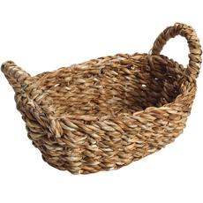 Ψωμιερα οβαλ με χερ. l seagrass 28χ18χ10 εκ