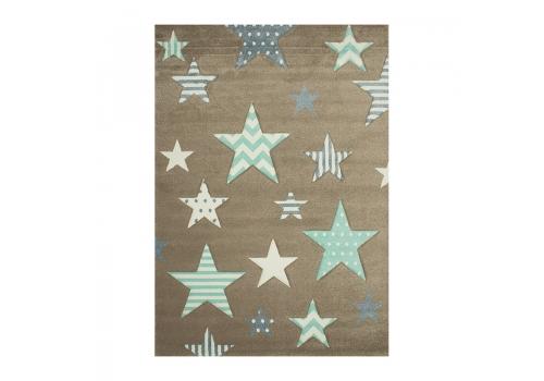 Χαλί koulis Carpets Kids 1360A Beige-Blue